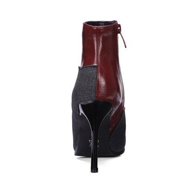 High Heel Zipper Sexy Boot_10