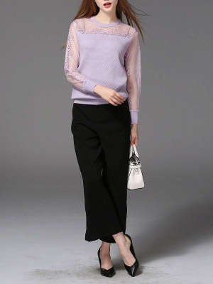 Long Sleeve Casual Shift Sweater_5