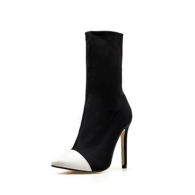 Stiletto Heel Pointed Toe Elegant Boots_8