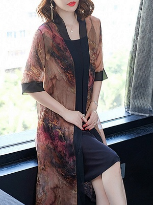 Elegant Printed Sunscreen Coat_5