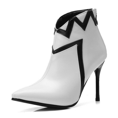 Stiletto Heel Sexy Pointed Toe Boots_1