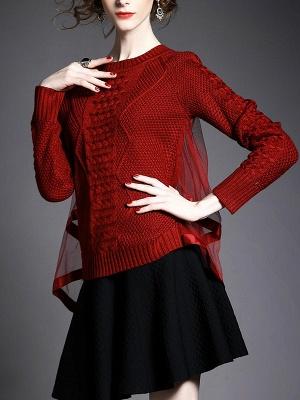 Statement Shift Long Sleeve Sweater_1