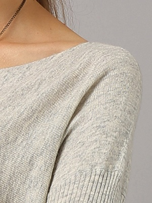 Shift Paneled Solid Casual Long Sleeve Sweater_11