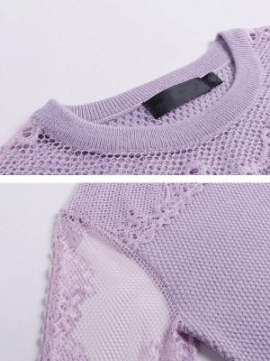 Long Sleeve Casual Shift Sweater_8