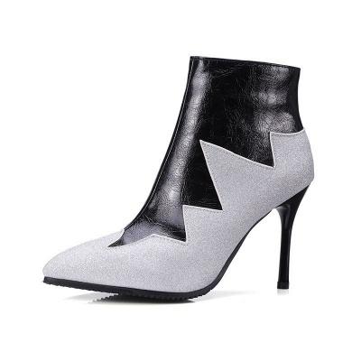 High Heel Zipper Sexy Boot_7