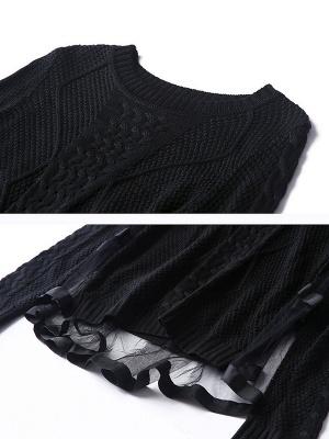 Statement Shift Long Sleeve Sweater_9