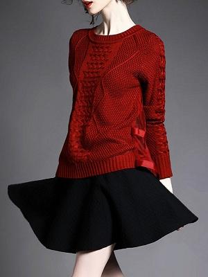 Statement Shift Long Sleeve Sweater_5