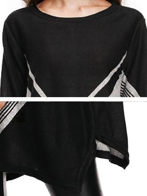Long Sleeve Casual Wool Crew Neck Sweater_6