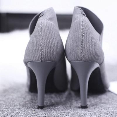 Pointed Toe Stiletto Heel Elegant Boots_9