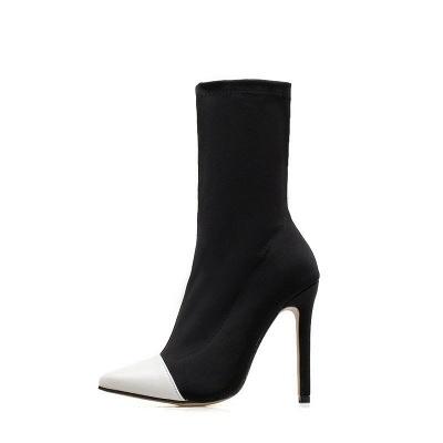 Stiletto Heel Pointed Toe Elegant Boots_7