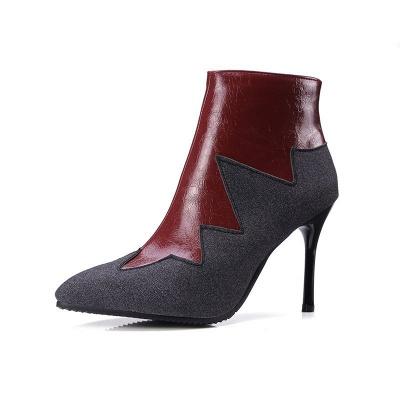 High Heel Zipper Sexy Boot_8