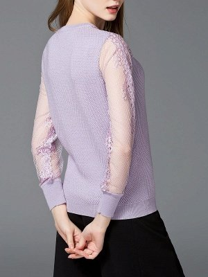 Long Sleeve Casual Shift Sweater_4