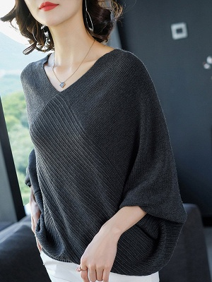 Shift Casual Batwing Sweater_4