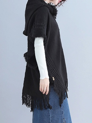 Casual Shift Batwing Sweater_5