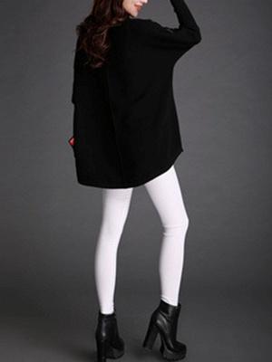 Long Sleeve Turtleneck Wool Sweater_5
