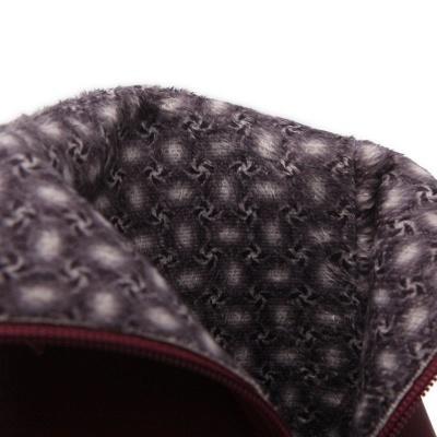 Daily Chunky Heel Zipper Tie Round Toe Elegant Boots_13