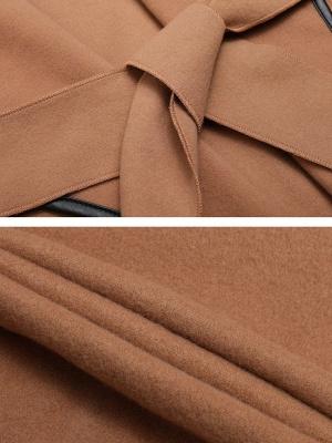 Binding Casual Long Sleeve Work Coat_7