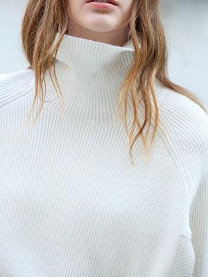 Casual Long Sleeve Cutout Sweater_7