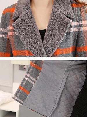 Shift Long Sleeve Casual Coat_7