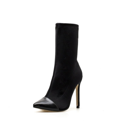 Stiletto Heel Pointed Toe Elegant Boots_10