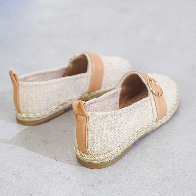 Women Canvas Flat Loafers Casual Comfort Shoes_10