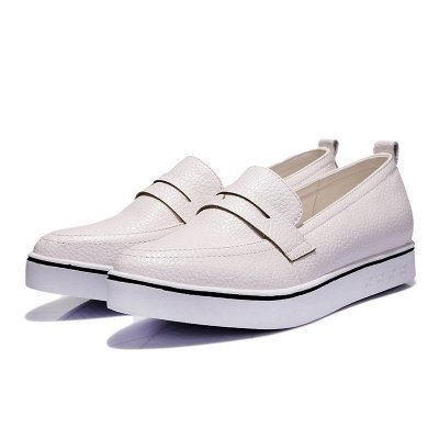 Casual  Pointed Toe Wedge Loafers_4