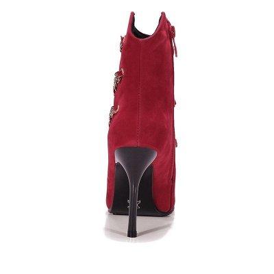 High Heel Suede Chain Boot_7