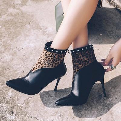 High Heel Zipper Sexy Boot_6
