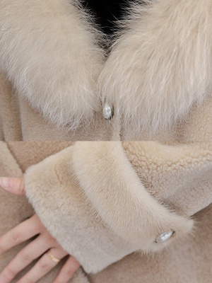 Casual Solid Long Sleeve Fur And Shearling Coats_7