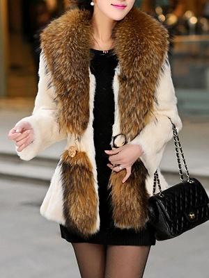 Elegant Paneled Fluffy Fur And Shearling Coats_11