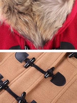 Tencel Hoodie Casual Zipper Buttoned Pockets Solid Coat_8