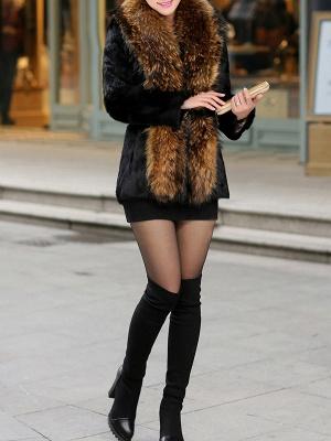 Elegant Paneled Fluffy Fur And Shearling Coats_10