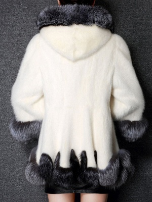 Long Sleeve Fluffy Casual Faux Fur Coat_4