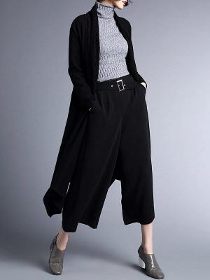 Shawl Collar Casual Long Sleeve Coat_6