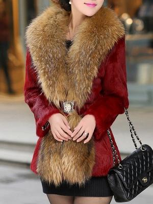 Elegant Paneled Fluffy Fur And Shearling Coats_1
