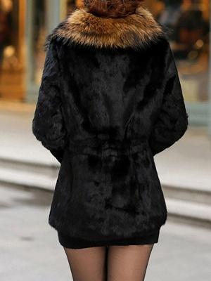 Elegant Paneled Fluffy Fur And Shearling Coats_9