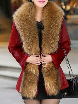 Elegant Paneled Fluffy Fur And Shearling Coats_5