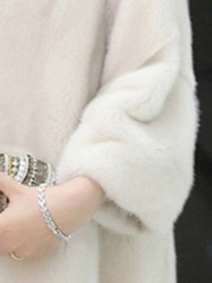 Long Sleeve Casual Fluffy Fur And Shearling Coats_6