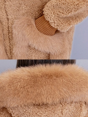 Long Sleeve Shift Fur And Shearling Coats_11