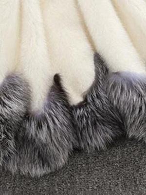 Long Sleeve Fluffy Casual Faux Fur Coat_7