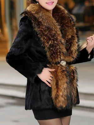 Elegant Paneled Fluffy Fur And Shearling Coats_3