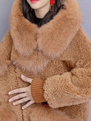 Long Sleeve Shift Fur And Shearling Coats_10
