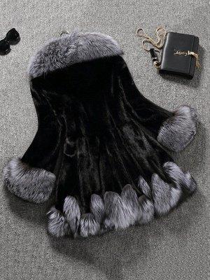Long Sleeve Fluffy Casual Faux Fur Coat_6