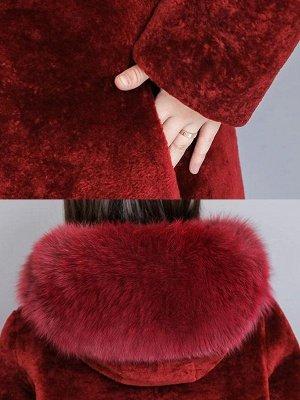 Shift Long Sleeve Zipper Solid Fur And Shearling Coats_9