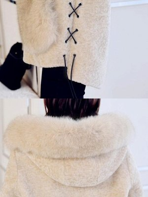 Paneled Hoodie Paneled Solid Fur And Shearling Coats_8