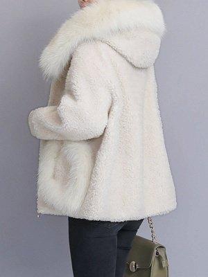 Long Sleeve Shift Fur And Shearling Coats_6