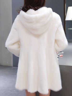 Long Sleeve Casual Hoodie Fur And Shearling Coats_1