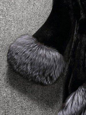 Long Sleeve Fluffy Casual Faux Fur Coat_8