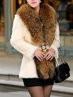 Elegant Paneled Fluffy Fur And Shearling Coats_2