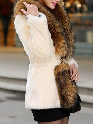Elegant Paneled Fluffy Fur And Shearling Coats_7